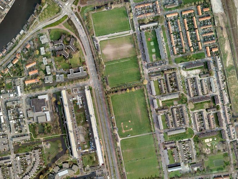 Amvest 200 woningen Leiden